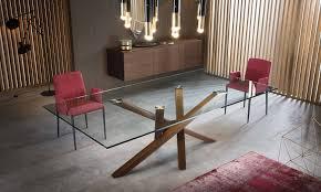 tavoli di cristallo sala da pranzo il nuovo tavolo shangai big 礙 realizzato in un ia e moderna
