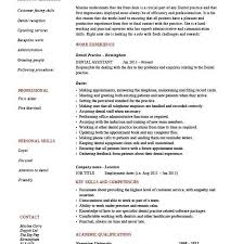Resume Template Dental Assistant Dental Assistant Resume Sample Dentist Resume Receptionist Duties