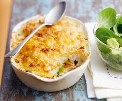 recette facile avec astuce de lignac gratin de poisson et légumes