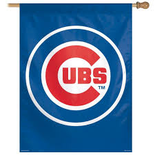 Hanging A Flag Vertically Chicago Cubs