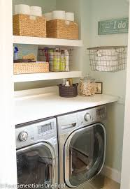 Laundry Room Storage Between Washer And Dryer 25 Small Laundry Room Ideas Home Stories A To Z