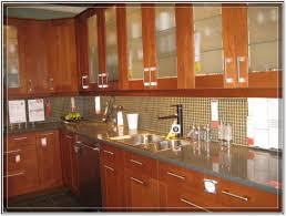 backsplash kitchen design appliances modern ikea kitchen design with wooden cabinet and