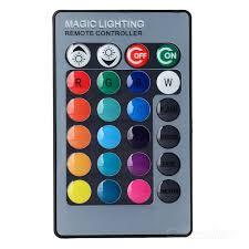 rgb led light controller jrled 24 key wireless ir remote controller for rgb led light bulb