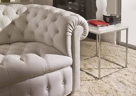 Fabric Chesterfield Sofas by Chesterfield Sofa Fabric Leather 3 Seater Devon Berto
