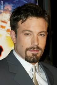 short hairstyles with fringe sideburns ben affleck with a short debonair hairstyle and sideburns