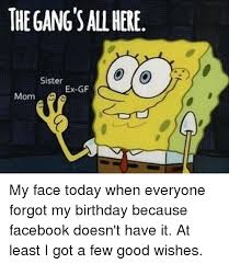 Birthday Memes For Facebook - 25 best memes about facebook birthday facebook birthday memes