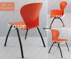 Plastic Stackable Chairs Plastic Stacking Chairs With Powder Coating Office Reception