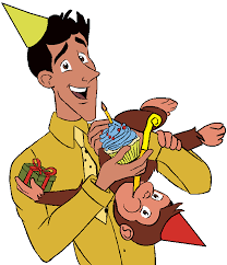 image curious george 4 ted u0027s birthday special png curious