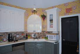 cost to repaint kitchen cabinets colorful kitchens painting dark wood kitchen cabinets cost to
