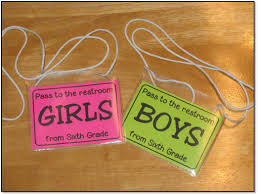 Bathroom Pass Ideas The Kinder Cupboard Classroom Bathroom Breaks