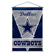 Dallas Cowboys Flags And Banners Amazon Com Nfl Dallas Cowboys Wall Banner Sports Fan Wall