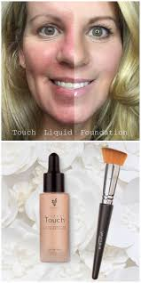 younique mineral touch liquid foundation goes on as a liquid and