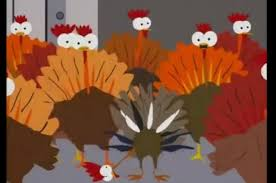 disabled turkey from 10 funniest tv thanksgiving slideshow