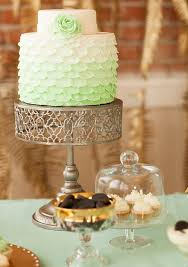 mint u0026 gold wedding ideas wedding inspiration 100 layer cake
