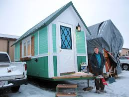Build Small House by Tiny Houses Helping With Homeless Problem In U S Cbs News