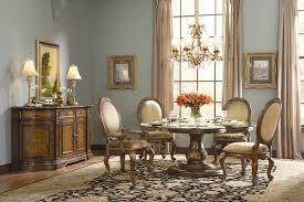 beladora 5 piece round glass top dining table set in caramel