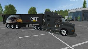 minecraft semi truck eagle eye kw cat truck semi trailer by eagle355th fixed modhub us
