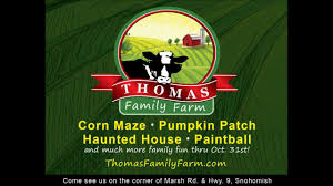 Best Pumpkin Patch Snohomish County by Thomas Family Farm Youtube