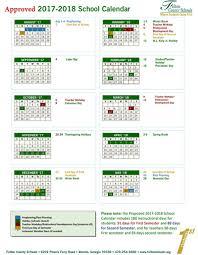 fulton county system u0027s 2017 18 calendar