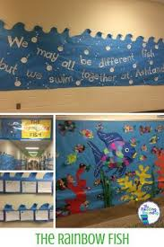 25 rainbow fish bulletin board ideas sea