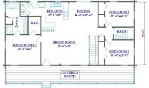 collections of simple log home floor plans free home designs