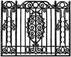Decorative Wrought Iron Railings Wrought Iron Fence Etsy