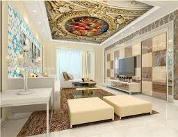 renaissance home decor ceiling murals wallpaper custom 3d photo wall paper for ceiling