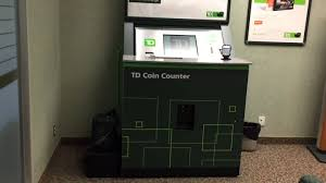 td canada trust bank coin counter 2015 youtube