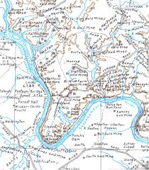 Eugene Map Stafford County Museum Stafford U0027s Historical Map Shows Mines