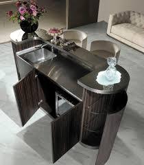 Contemporary Bar Cabinet Contemporary Bar Cabinet Walnut Ebony Metal Alexander Y
