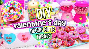 Valentine Decorating Ideas Diy Valentine U0027s Day Gifts Treats And Room Decor 2017 Youtube