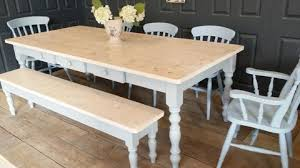 Country Kitchen Table And Chairs - bespoke farmhouse dining tables handmade with rustic reclaimed