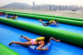 water slides u0027not slippery enough to prevent crashes u0027 at hong kong