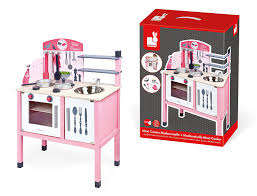 janod j06533 mademoiselle wooden maxi cooker pink janod