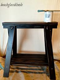 Ikea Standing Desk Legs by Furniture Ikea Sawhorse Desk Upgrade And Sawhorse Remodeling