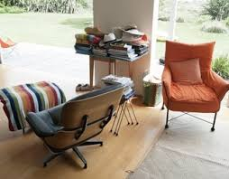 eames chair side table eames lounge chair dwell