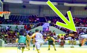 jhong hilario haircut jhong hilario back flip basketball free throw trick back