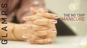 the no chip long lasting manicure tutorial youtube