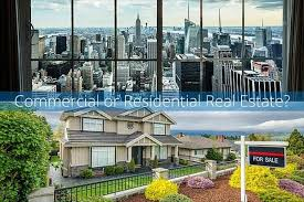 commercial vs residential real estate career comparison
