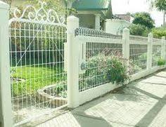 ornamental wire gate search fencing ideas