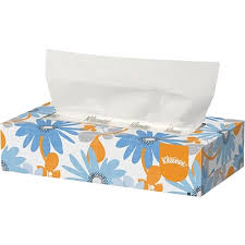 kleenex tissue paper 2 ply flat box 100 sheets box 10 boxes
