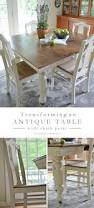 painting dining room table antique dining table updated with chalk paint antique dining