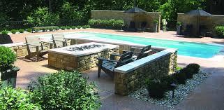 tron pools custom concrete