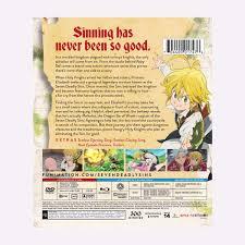 the seven deadly sins deadly sins season 1 part 1 blu ray dvd