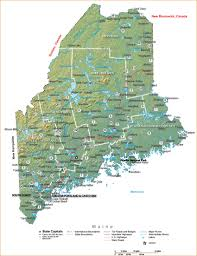 Connecticut State Map by Maine State Maps Travel Guides To Maine