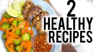 Home Chef by Healthy Lunch U0026 Dinner Ideas 2 Recipes With Home Chef Youtube