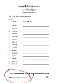 free printable worksheets english banana com esl blog