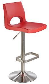 laven brushed steel height adjustable kitchen breakfast bar stool