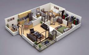 50 two 2 bedroom apartment house plans architecture design