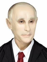 Russian President Vladimir Putin Mask Latex Halloween Costume